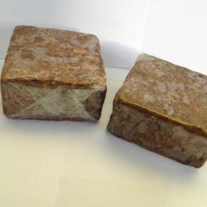 African Black Soap bar 1bls