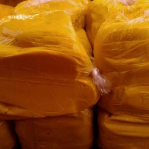 Unrefined yellow shea butter